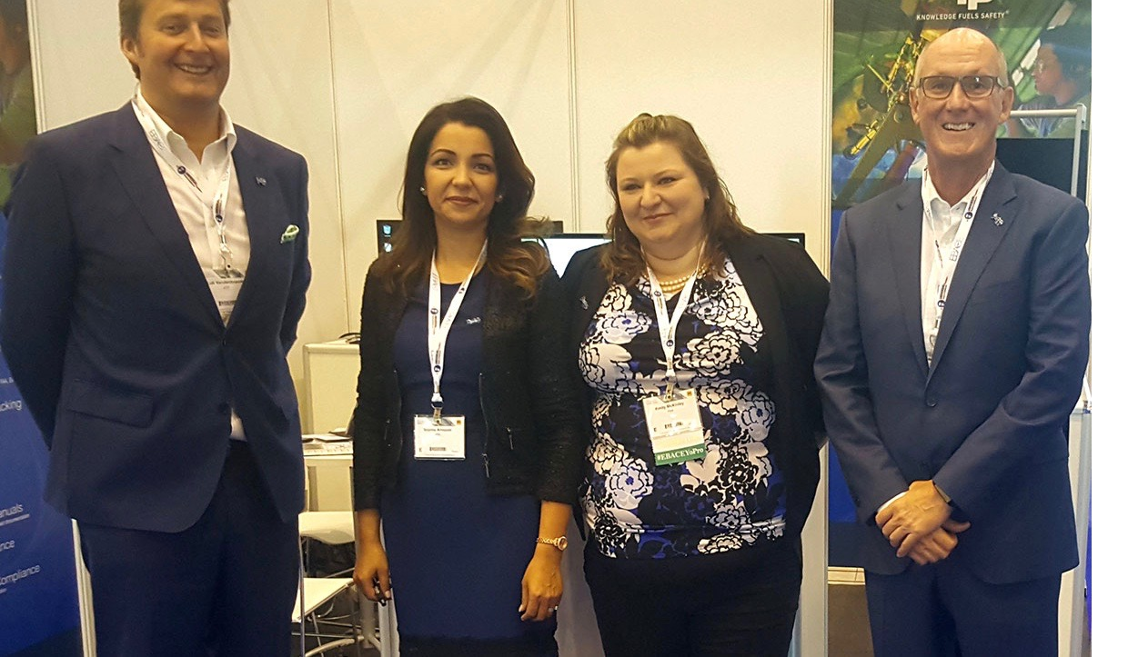 ATP Team At The European Business Aviation Convention & Exhibition